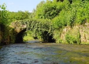 Brücke über den Hirschbach