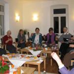 Adventsbegrüßung mit Gästen