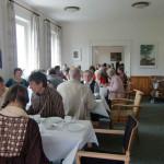 Einweihungsfeier der Kapelle / beim Kaffeetrinken im Gruppenraum und Speiseraum