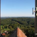 Blick von der Burg Hohenstein