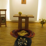 Kapelle mit Bodenbild