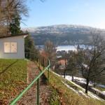 Blick auf Eschenbach im Winter