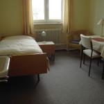 Einzelzimmer im Gästehaus