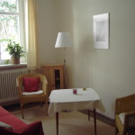 Wohnzimmer im Gästehaus