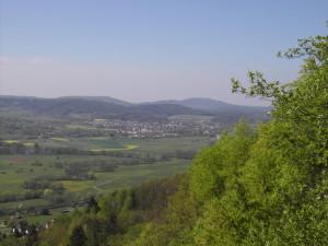 Blick ins Tal Richtung Hersbruck
