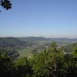 Blick von der Windburg auf Hohenstadt